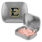 Silver Rectangular Peppermint Tin-E - Offical Logo