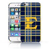 iPhone 6 Plus Phone Case-E w/ Tartan Pattern