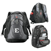 Wenger Swiss Army Tech Charcoal Compu Backpack-E - Offical Logo