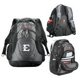 Wenger Swiss Army Tech Charcoal Compu Backpack-E - Offical Logo