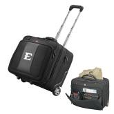 Wenger Transit Wheeled Black Compu Briefcase-E - Offical Logo