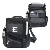Momentum Black Computer Messenger Bag-E - Offical Logo