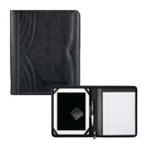Kate Deco Tech Black Padfolio-Airbus Helicopters Debossed
