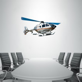 3 ft x 3 ft Fan WallSkinz-EC135 In Blue Sky