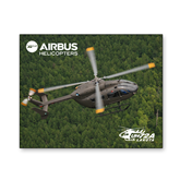 5 x 7 Photographic Print-UH72A Lakota Over Forest