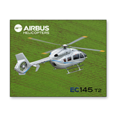 8 x 10 Photographic Print-EC145 Over Green Field