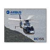 8 x 10 Photographic Print-EC155 Over Mountain/Water