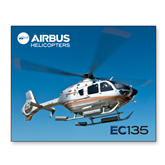 11 x 14 Photographic Print-EC135 In Blue Sky