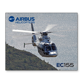11 x 14 Photographic Print-EC155 Over Mountain/Water