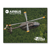 11 x 14 Photographic Print-UH72A Lakota Over Forest
