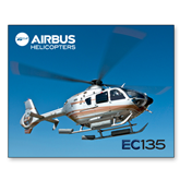 11 x 17 Photographic Print-EC135 In Blue Sky