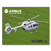 11 x 17 Photographic Print-EC145 Over Green Field