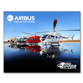11 x 17 Photographic Print-EC145 Fleet