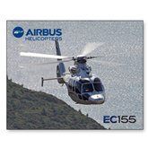 11 x 17 Photographic Print-EC155 Over Mountain/Water