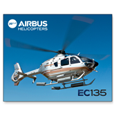 15 x 20 Photographic Print-EC135 In Blue Sky