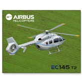 15 x 20 Photographic Print-EC145 Over Green Field
