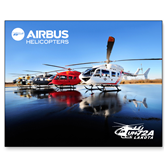 15 x 20 Photographic Print-EC145 Fleet