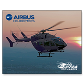 15 x 20 Photographic Print-UH72A Lakota Over Sunset
