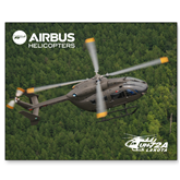 15 x 20 Photographic Print-UH72A Lakota Over Forest