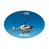 Medium Decal-EC135 In Blue Sky, 8 inches wide