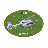 Medium Decal-EC145 Over Green Field, 8 inches wide