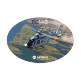 Medium Decal-EC145 Over River, 8 inches wide