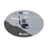 Medium Decal-EC155 Over Mountain/Water, 8 inches wide