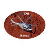 Medium Decal-EC175 Over Desert Mountains, 8 inches wide