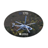 Medium Decal-EC175 Over Trees, 8 inches wide