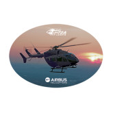 Medium Decal-UH72A Lakota Over Sunset, 8 inches wide