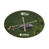 Medium Decal-UH72A Lakota Over Forest, 8 inches wide