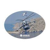 Medium Decal-X3 Banking Over Water, 8 inches wide