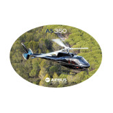 Medium Decal-AS350 Over Marsh, 8 inches wide