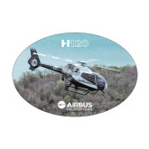 Medium Decal-H120 Over Trees, 7 inches wide