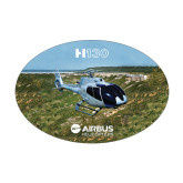 Medium Decal-H130 In Front of Mountain, 7 inches wide