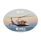 Medium Decal-H155 Over Shoreline, 7 inches wide
