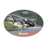 Medium Decal-EC120 Over Airport, 8 inches wide