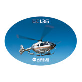 Large Decal-EC135 In Blue Sky, 12 inches wide