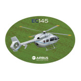 Large Decal-EC145 Over Green Field, 12 inches wide