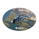 Large Decal-EC145 Over River, 12 inches wide