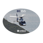Large Decal-EC155 Over Mountain/Water, 12 inches wide