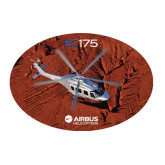 Large Decal-EC175 Over Desert Mountains, 12 inches wide