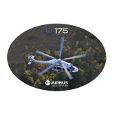 Large Decal-EC175 Over Trees, 12 inches wide