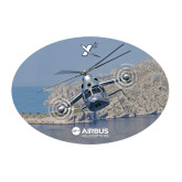 Large Decal-X3 Banking Over Water, 12 inches wide
