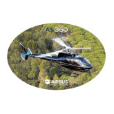 Large Decal-AS350 Over Marsh, 12 inches wide