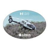 Large Decal-H120 Over Trees, 8.5 inches wide
