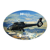 Large Decal-H130 Over Mountain Valley, 8.5 inches wide