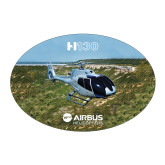 Large Decal-H130 In Front of Mountain, 8.5 inches wide