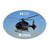 Large Decal-H135 In Sky, 8.5 inches wide