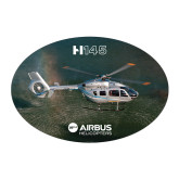 Large Decal-H145 Over Water, 8.5 inches wide